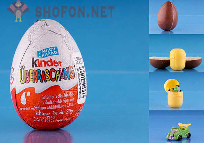 15 fakta om Kinder Surprise